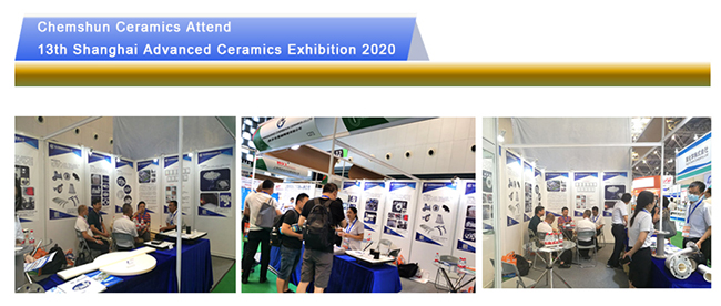 CHEMSHUN CERAMICS Attened 13th Shanghai advanced ceramics exhibition in 2020